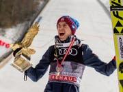 Im letzten Jahr an der Vierschanzentournee nicht zu stoppen: Kamil Stoch (Bild: KEYSTONE/EPA/LISI NIESNER)