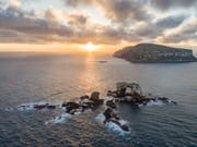 Die Behörden auf den Galápagos-Inseln haben ein Verbot von Feuerwerk erlassen, um die einzigartige Naturwelt der Region zu schützen. (Bild: KEYSTONE/AP simonjpierce.com/SIMON PIERCE)