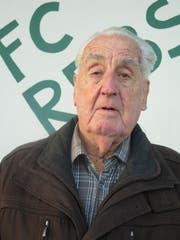 Toni Reize wird am Neujahrstag 85 und ist immer noch auf den Fussballplätzen der Region anzutreffen. (Bild: Mäx Hasler)