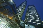 Der Sitz der Deutschen Bank in Frankfurt. (Bild: Thomas Lohnes/Getty)