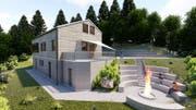 So soll es aussehen: Der Plan für das neue Heim. (Bild: PD)