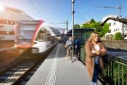 Mit dem Fahrplanwechsel haben Passagiere mehr Zeit, wenn sie am Bahnhof Gersag in Emmenbrücke umsteigen. (Bild: pd)
