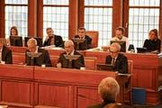 Finanzdirektor Köbi Frei präsentierte zum letzten Mal im Kantonsrat einen Voranschlag. (Bild: CAL)