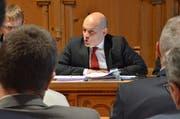 Bauherr Ruedi Ulmann verteidigt das Vorgehen der Standeskommission. Bild: RF