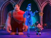 Der Trickfilm «Ralph Breaks the Internet» hat es auf Platz eins der nordamerikanischen Kinocharts geschafft. (Bild: KEYSTONE/AP Disney)