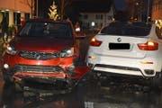 An den Fahrzeugen entstand erheblicher Sachschaden. (Bild: Landespolizei FL)