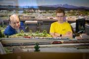 Modelleisenbahnen faszinieren Jung und Alt. (Bild: Urs Bucher)