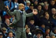 Pep Guardiola, Trainer Manchester City. (Bild: Peter Powell/EPA)