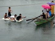 Heftige Unwetter haben auf den Philippinen gewütet. (Bild: KEYSTONE/EPA/FRANCIS R. MALASIG)