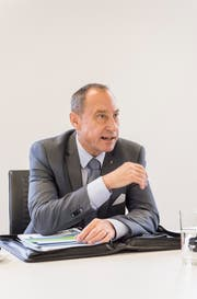 Christian Neuweiler, Präsident der IHK Thurgau. (Bild: Thomas Hary)