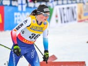 Bestes Resultat in dieser Saison: Nathalie von Siebenthal lief in Toblach auf den 8. Rang (Bild: KEYSTONE/EPA COMPIC/KIMMO BRANDT)