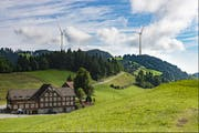 In der Ostschweiz stösst die Windenergie auf Widerstand (Bild: PD)