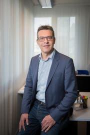 Toni Thoma (SVP) hofft, dass in Andwil das Wir-Gefühl nicht verloren geht. (Bild: Urs Bucher (07. April 2017))