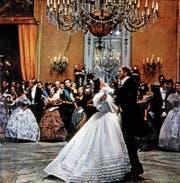 Unvergessliche Filmszene aus «Il Gattopardo» (1963) mit Claudia Cardinale und Burt Lancester. (Bild: Alamy)