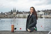 Eine Tischbombe wird vielleicht auch am Silvesterabend gezündet, wenn Sandra Garibay im Kollegenkreis feiert. (Bild: Dominik Wunderli (Luzern, 22. Dezember 2018))