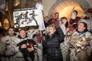 Wahlfeier für Bundesrätin Karin Keller-Sutter in Wil. (Bild: Urs Bucher)