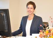 Für Stadtpräsidentin Susanne Hartmann bleibt vom Jahr 2018 unter anderem der Wiler Empfang für Karin Keller-Sutter in Erinnerung. Bild: PD