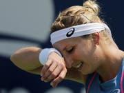 Für Timea Bacsinszky begann die neue Saison mit einer Niederlage, in Shenzhen verlor sie gegen Maria Scharapowa in zwei Sätzen (Bild: KEYSTONE/FR170574 AP/KEVIN HAGEN)