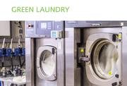 Green Laundry bietet einen Wäschereiservice für Hotels, Restaurants und das Gewerbe. (Bild: Screenshot Green Laundry)