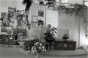 Blick in die Berufsbildungsausstellung 1965 in Grabs.