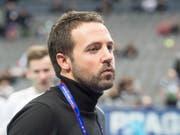 Der Schweizer Nationaltrainer David Jansson (Bild: KEYSTONE/HANDOUT SWISS UNIHOCKEY/FABIAN TREES)