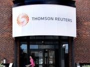 Der Daten- und Nachrichenanbieter Thomson Reuters unterzieht sich einer Rosskur: 3'200 Stellen werden gestrichen. (Bild: KEYSTONE/AP/Eric J. Shelton)