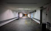 In diesem ungenutzten Teil des Posttunnels unterhalb des Bahnhofs Luzern sollen 800 neue Velo-Abstellplätze entstehen. (Bild: PD)