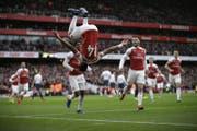 Arsenal hebt unter dem neuen Trainer wieder ab. (Bild: AP)