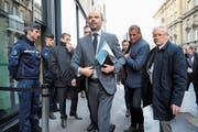 Der französische Premierminister Edouard Philippe. Bild: Ludovic Marin/AFP (Paris, 4. Dezember 2018)