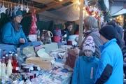 Am Christkindlimarkt gab es viel zu entdecken. (Bilder: PD)