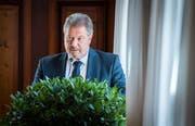 Walter Hugentobler, Präsident der Geschäftsprüfungs- und Finanzkommission. (Bild: Reto Martin)