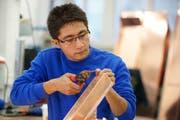 Die Integrationsvorlehre richtet sich an anerkannte Flüchtlinge und vorläufig aufgenommene Jugendliche, welche bereits einen spezifischen Berufswunsch haben. (Bild: PD)