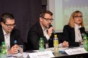 An der Generalversammlung des FC Wil konnte Präsident Maurice Weber erfreuliche Zahlen vermelden. (Bild: Gianluca Lombardi)