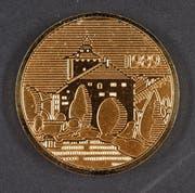 Die erste IG-Grabser Münze aus dem Jahr 1989.