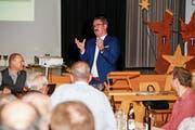 Der Thaler Gemeindepräsident Robert Raths schätzt den Dialog mit der Bevölkerung. (Bild: Rudolf Hirtl)