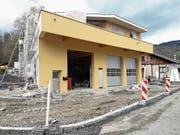 Nachfolger Hans Müller baut im Rüteli eine neue Fahrzeughalle, die am Sonntag eingeweiht wird. (Bild: PD)
