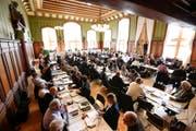 Der Thurgauer Grosse Rat im Rathaus Weinfelden. (Bild: Donato Caspari, 7. November 2018)