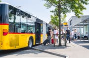Auch für Busse ist der Bahnhof Weinfelden ein Knotenpunkt. (Archivbild: Andrea Stalder)