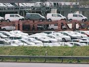 Autoverkauf in Deutschland harzt (Bild: KEYSTONE/CHRISTIAN BEUTLER)