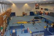 Die mit einigem finanziellen Aufwand umgebaute Halle ist vor einem Jahr in Betrieb genommen worden. Sie bietet dem TZFF ideale Trainingsbedingungen. (Bild: Beat Lanzendorfer)
