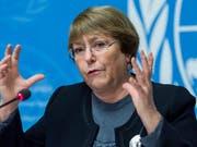 Die Uno-Hochkommissarin für Menschenrechte, Michelle Bachelet, ist sehr enttäuscht von den Ländern, die den Uno-Migrationspakt ablehnen oder infrage stellen. (Bild: KEYSTONE/MARTIAL TREZZINI)