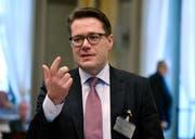 St.Galler Regierungsrat und Finanzchef Benedikt Würth. (Bild: Regina Kühne)