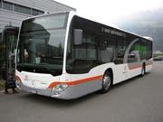 Neu kommen Hybrid-Busse im Kanton Uri zum Einsatz (Bild: PD)