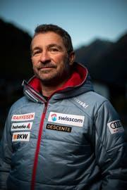 Frauen-Cheftrainer Beat Tschuor. (Bild: Gian Ehrenzeller/Keystone (Sölden, 25. Oktober 2018))