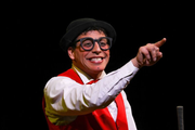 Dieses Jahr mit dem Circus Royal auf Tournee: Clown Alan Rossi.