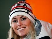 Lindsey Vonn wartet mit ihrem ersten Weltcup-Einsatz in dieser Saison noch zu (Bild: KEYSTONE/AP/CHRISTOPHE ENA)
