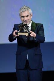 Regisseur Alfonso Cuarón gewann für «Roma» den Goldenen Löwen des Filmfestivals von Venedig. (Bild: EPA/Ansa Ettore Ferrari)