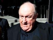 Der ehemalige Erzbischof von Adelaide, Philip Wilson, hat alle Vorwürfe der Vertuschung von Kindsmissbrauch stets zurückgewiesen. (Bild: KEYSTONE/EPA AAP/DARREN PATEMAN)