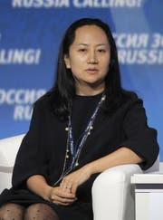 Meng Wanzhou, Finanzchefin von Huawei. (Bild: EPA)