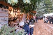 Bild vom letztjährigen Weihnachtsmarkt im Bellpark. Bild PD